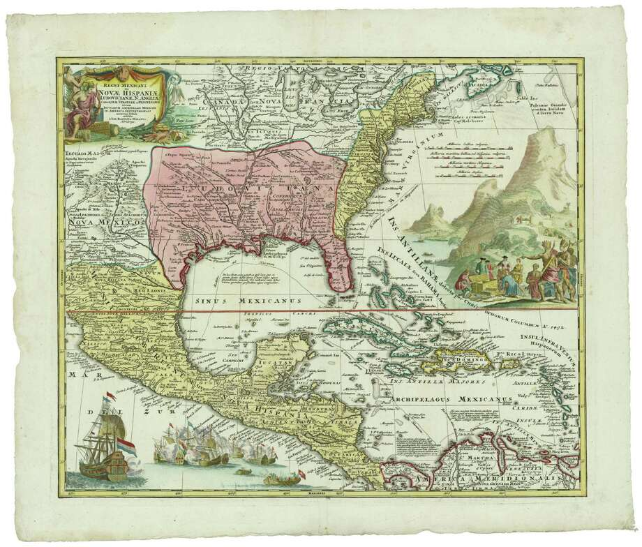 Texas when it was part of New Spain, 1720