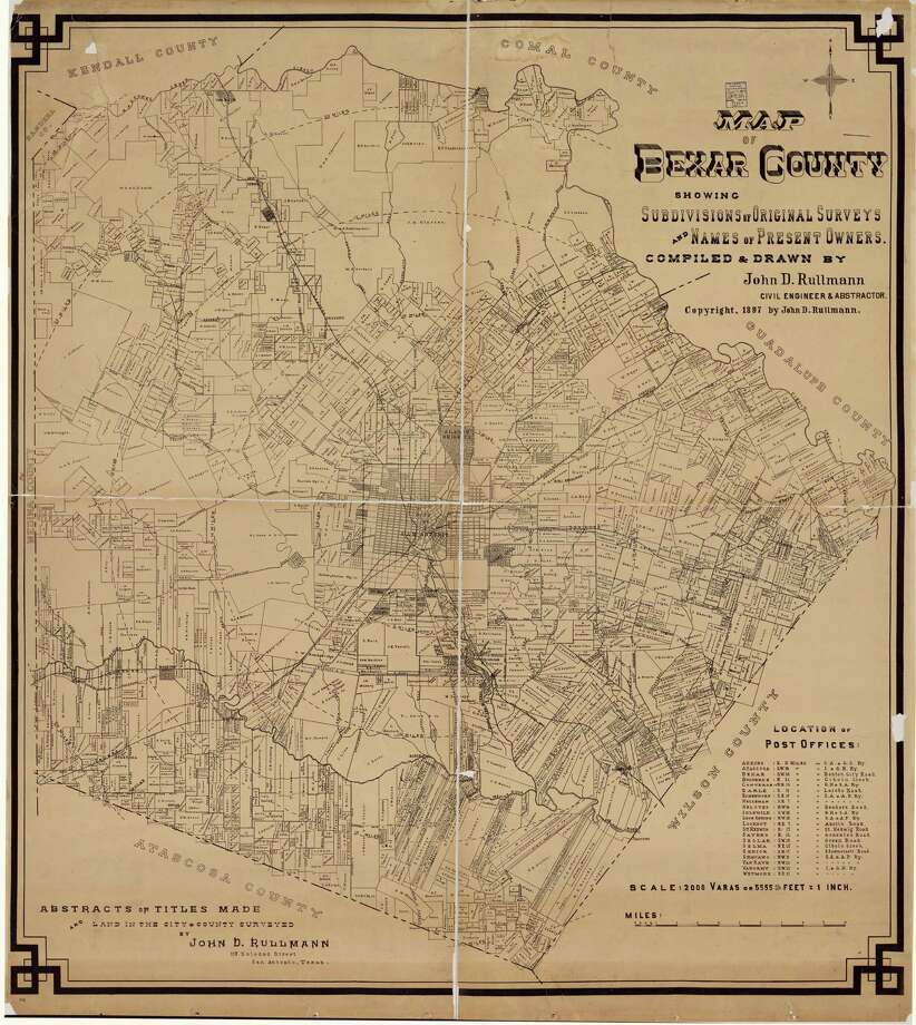 Bexar County, 1897