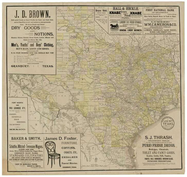 Texas in 1889.