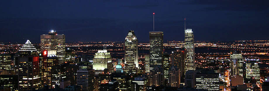 Montreal at night by Anirudh Koul.  See the original photo at http://www.flickr.com/photos/anirudhkoul/788832193/ Flickr/creative commons license Photo: Flickr