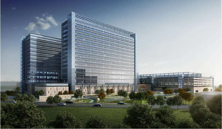 A rendering of the Phillips 66 headquarters. It will have two connecting nine-story buildings. Photo: Courtesy Of Phillips 66