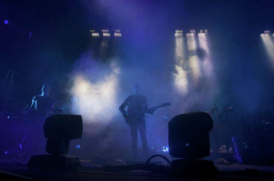 "The band Nine Inch Nails performs during the ""Tension 2013"" tour on Friday, Nov. 22, 2013, at KeyArena in Seattle. The ""Tension 2013"" tour marked the first time Nine Inch Nails has been on the road since 2009. Photo: Sofia Jaramillo, SEATTLEPI.COM / SEATTLEPI.COM"