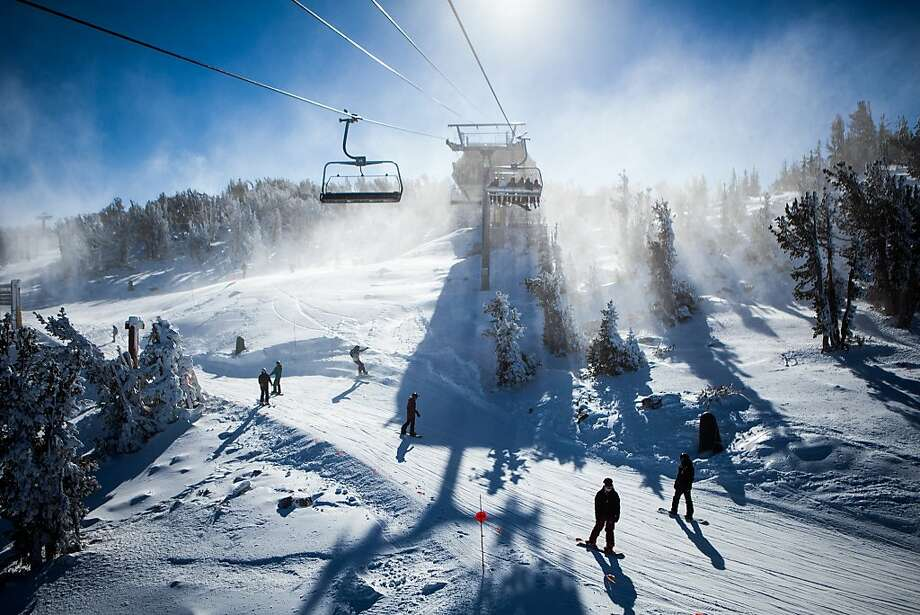 A file photo of Heavenly Ski Resort. A snowboarder lost control and was killed on an expert run Wednesday. Photo: Max Whittaker/Prime, Special To The Chronicle