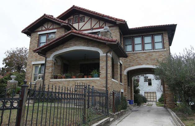 The Historic home of famous San Antonio photographer E.O. Goldbeck. Read more Photo: Kin Man Hui, San Antonio Express-News / ©2013 San Antonio Express-News