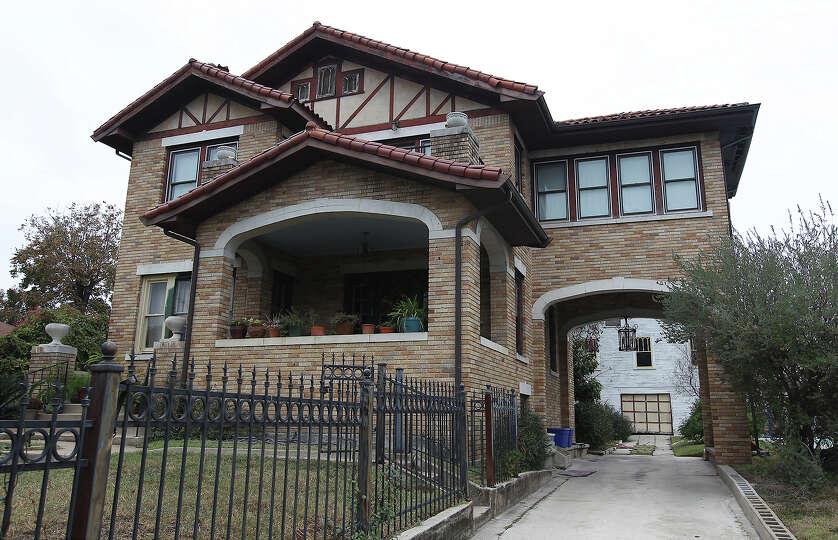 The Historic home of famous San Antonio photographer E.O. Goldbeck.