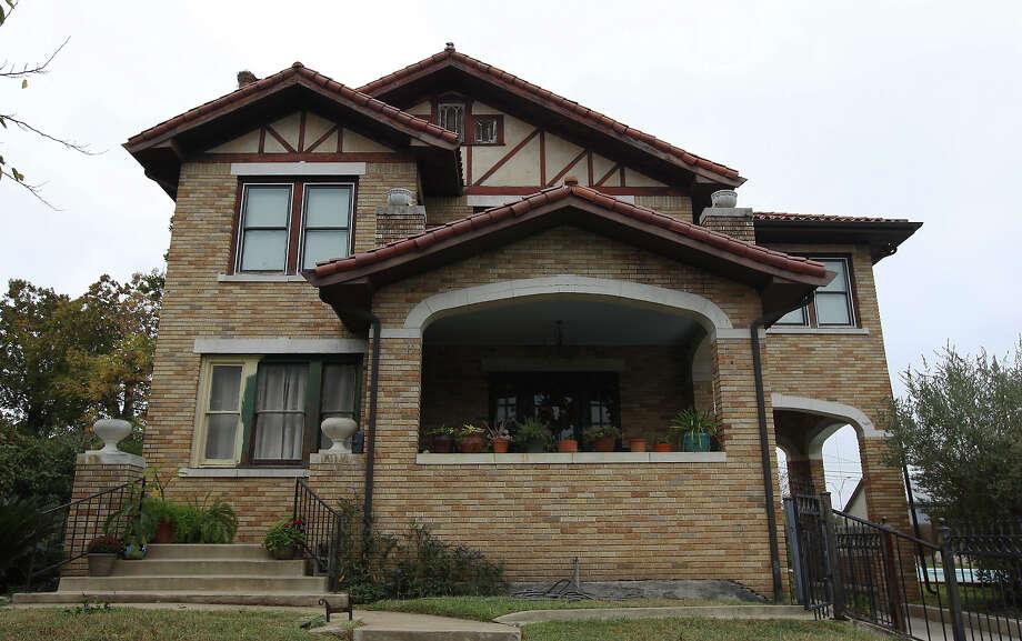 Historic home of famous San Antonio photographer E.O. Goldbeck on Friday, Nov. 22, 2013. Photo: Kin Man Hui, San Antonio Express-News / ©2013 San Antonio Express-News