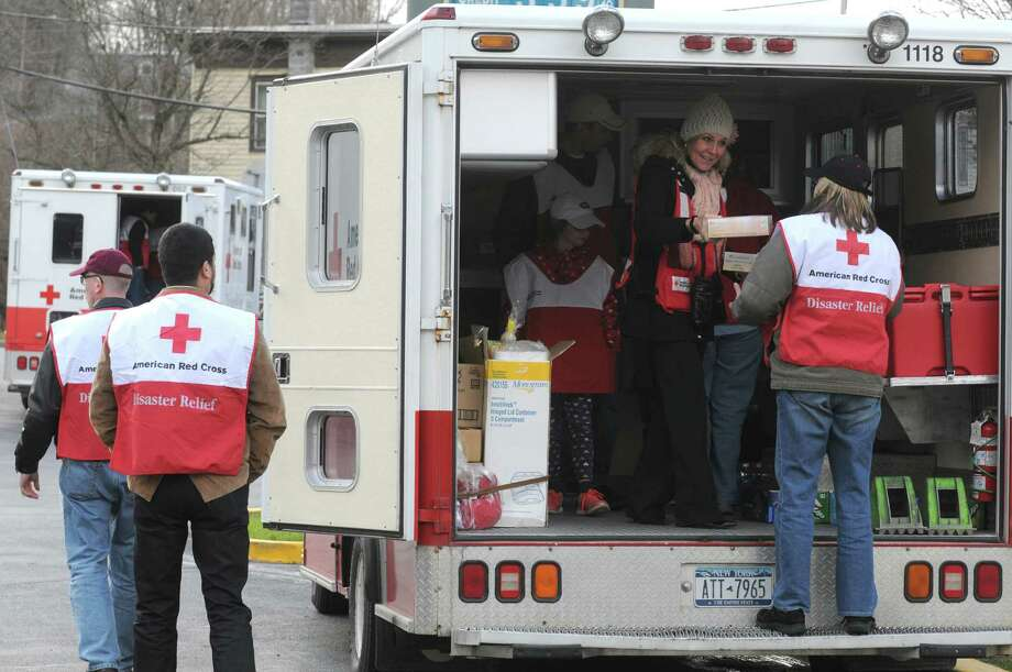 The American Red Cross is joining with VolunteerSquare to offer Disaster Boot Camp from 8 a.m. to 3 p.m. Saturday at the Norwalk Fire Department, 121 Connecticut Ave., Norwalk. Find out more.  Photo: Michael P. Farrell / 00024741A