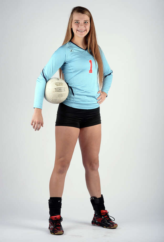 Lumberton's Lauren Glover is a Super Gold Player of the Year. Photo taken Tuesday, November 19, 2013 Guiseppe Barranco/@spotnewsshooter Photo: Guiseppe Barranco, Photo Editor