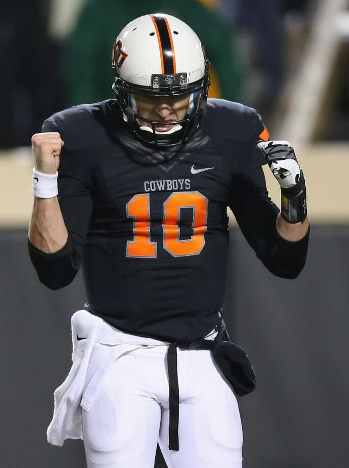 13. Oklahoma State(10-2) Last week: 6 Photo: Ronald Martinez, Getty Images