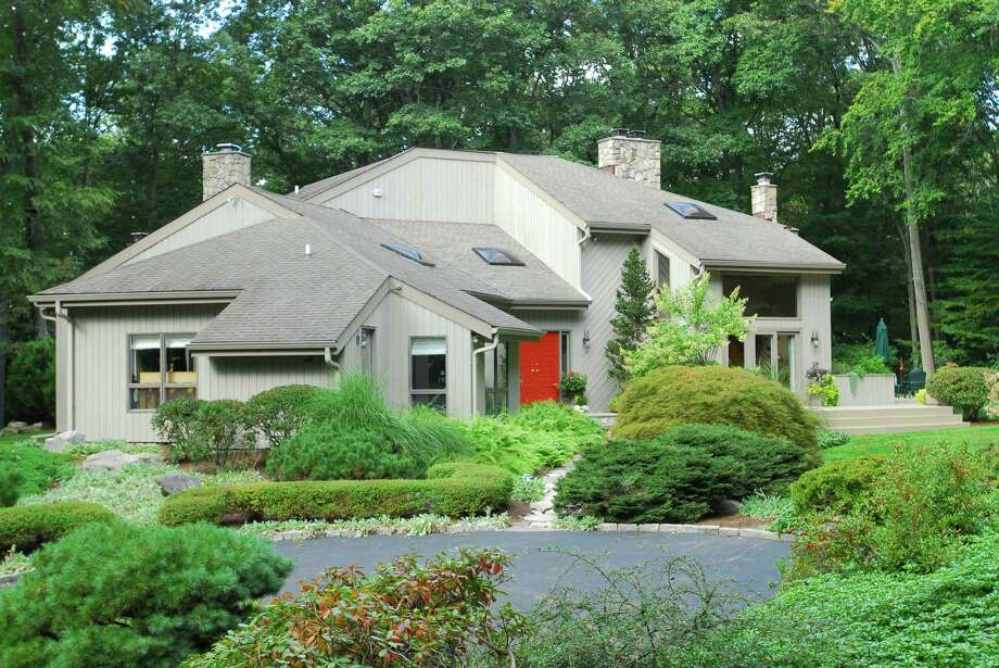 The house at 25 Greenbrier Road is on the market for $1,495,000. Photo: Contributed Photo / Westport News contributed