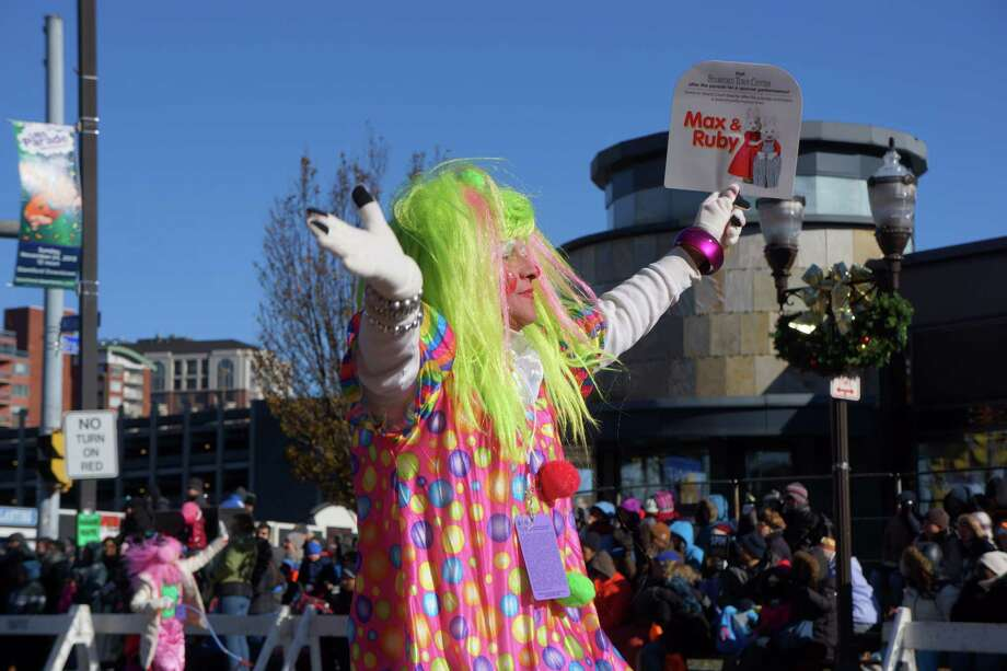 Were you SEEN at the UBS Balloon Parade in Stamford on Sunday morning? 11/24/2013 Photo: Todd Tracy/ Hearst Connecticut Media Group