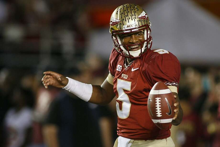 The legal cloud hanging over front-runner Jameis Winston of Florida State gives other candidates a chance to overtake him. Photo: Phil Sears, Associated Press