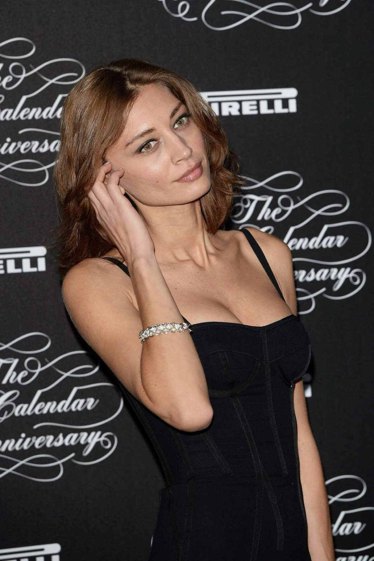 Margareth Made attends the Pirelli Calendar 50th Anniversary Red Carpet on November 21, 2013 in Milan, Italy. (Photo by Venturelli/WireImage)