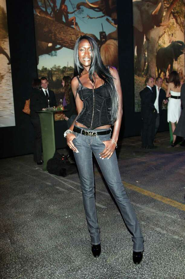 "Model Diariata Niang at the gala dinner at the presentation Of ""2009 Pirelli Calendar"" In Station In Berlin Photo: Franziska Krug, Getty Images / German Select"