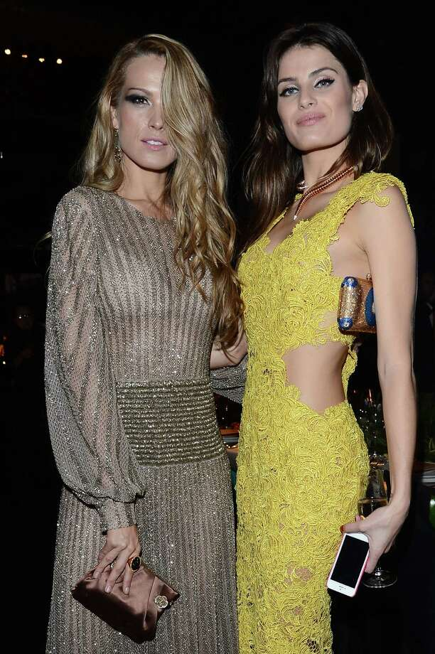 Petra Nemcova and Isabeli Fontana attend the '2013 Pirelli Calendar Unveiling' on November 27, 2012 in Rio de Janeiro, Brazil.  Photo: Venturelli, Getty Images / 2012 Venturelli