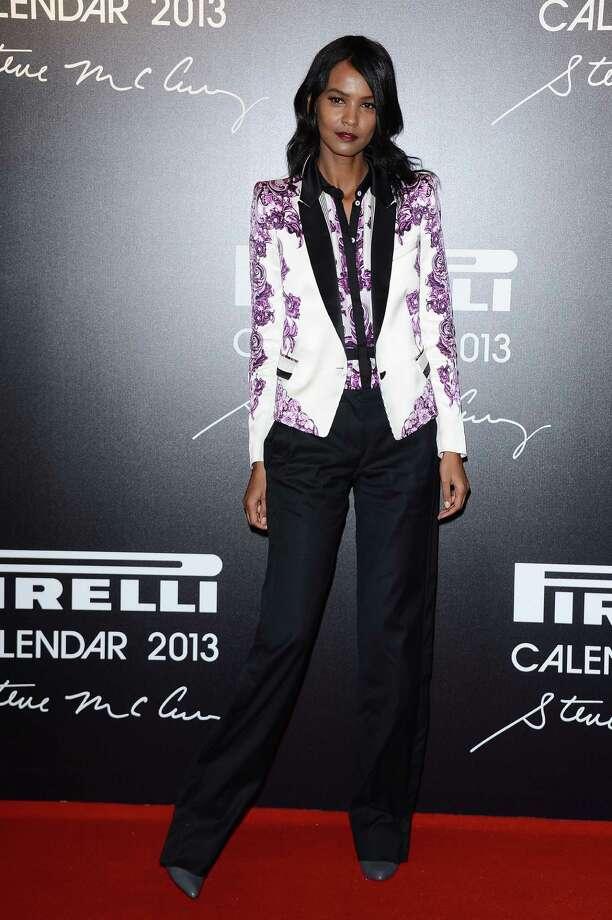 Liya Kebede attends the '2013 Pirelli Calendar Unveiling' on November 27, 2012 in Rio de Janeiro, Brazil.  Photo: Venturelli, Getty Images / 2012 Venturelli