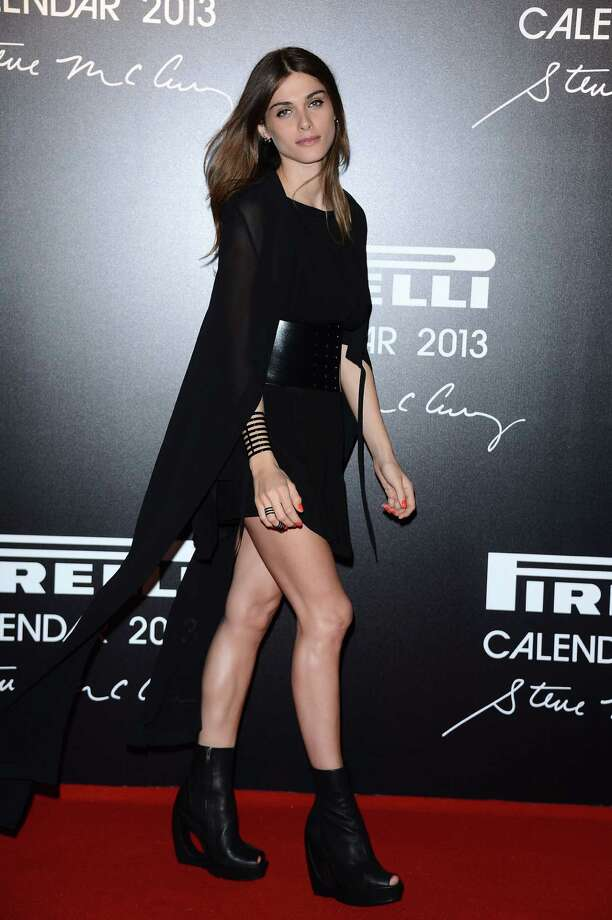 Model  Elisa Sednaoui attends the '2013 Pirelli Calendar Unveiling' on November 27, 2012 in Rio de Janeiro, Brazil.  Photo: Venturelli, Getty Images / 2012 Venturelli