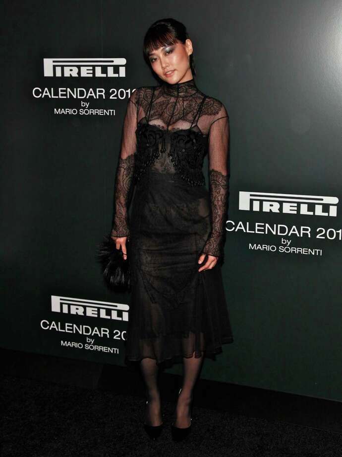 Model Rinko Kikuchi attends the 2012 Pirelli Calendar gala dinner at the Park Avenue Armory on December 6, 2011 in New York City.  Photo: Charles Eshelman, Getty Images / 2011 Charles Eshelman