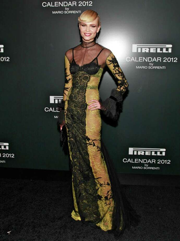 Model Natasha Poly attends the 2012 Pirelli Calendar gala dinner at the Park Avenue Armory on December 6, 2011 in New York City.  Photo: Charles Eshelman, Getty Images / 2011 Charles Eshelman