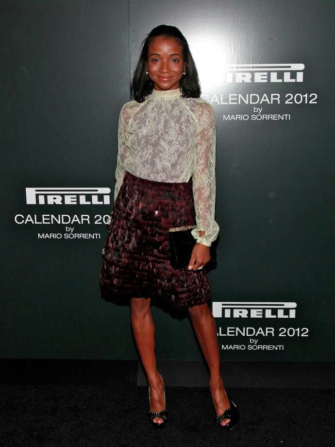 Genevieve Jones attends the 2012 Pirelli Calendar gala dinner at the Park Avenue Armory on December 6, 2011 in New York City. Photo: Charles Eshelman, Getty Images / 2011 Charles Eshelman