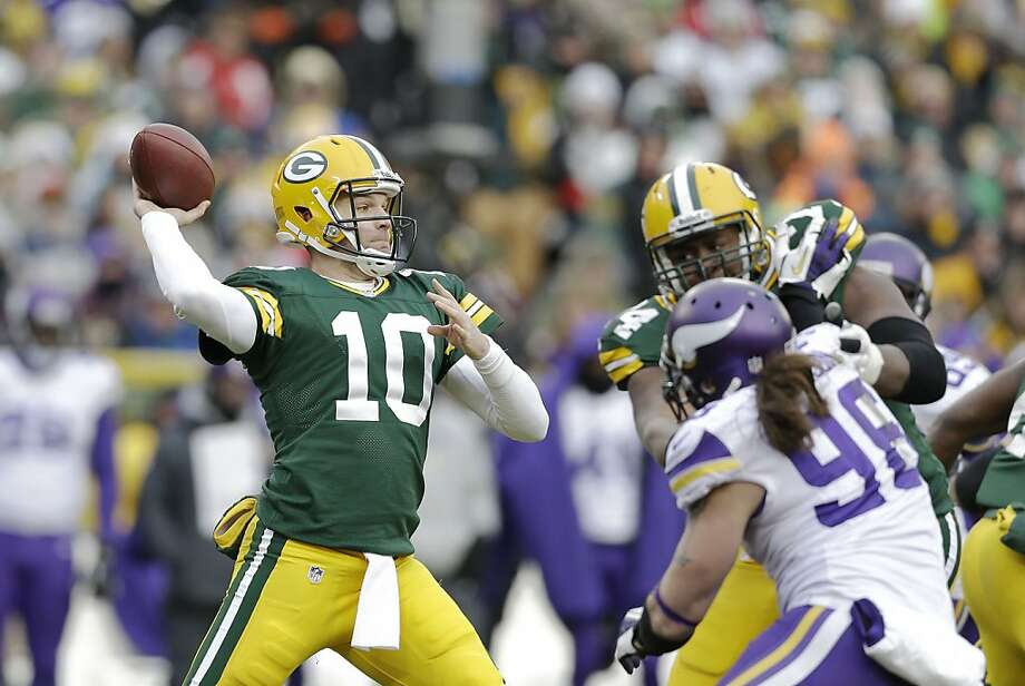 Ex-Raiders QB Matt Flynn helped bring the Packers back from a 16-point deficit. Photo: Tom Lynn, Getty Images