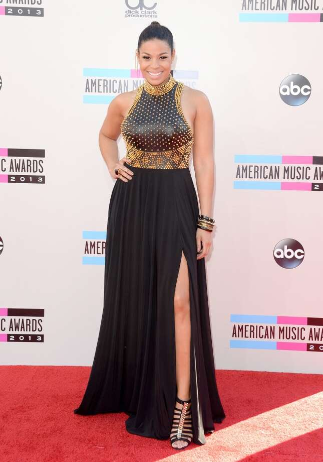 Singer/songwriter Jordin Sparks attends the 2013 American Music Awards at Nokia Theatre L.A. Live on November 24, 2013 in Los Angeles, California.  (Photo by Jason Merritt/Getty Images) Photo: Jason Merritt, Getty Images