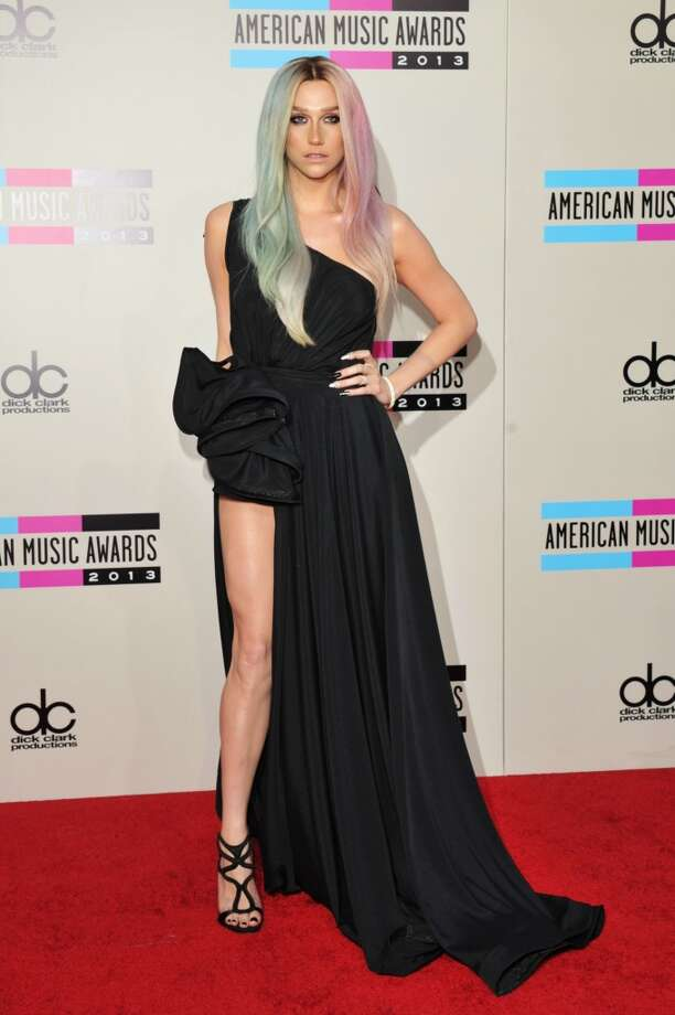 Recording artist Ke$ha attends the 2013 American Music Awards at Nokia Theatre L.A. Live on November 24, 2013 in Los Angeles, California.  (Photo by Lester Cohen/WireImage) Photo: Lester Cohen, WireImage