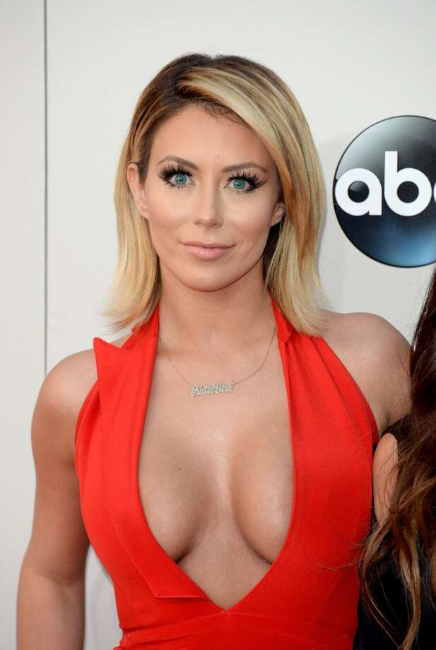 Singer Aubrey O'Day of Danity Kane attends the 2013 American Music Awards at Nokia Theatre L.A. Live on November 24, 2013 in Los Angeles, California.  (Photo by Jason Merritt/Getty Images) Photo: Jason Merritt, Getty Images