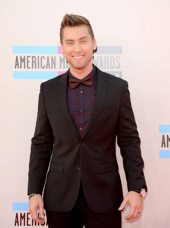 Television personality Lance Bass attends the 2013 American Music Awards at Nokia Theatre L.A. Live on November 24, 2013 in Los Angeles, California.  (Photo by Jason Merritt/Getty Images) Photo: Jason Merritt, Getty Images