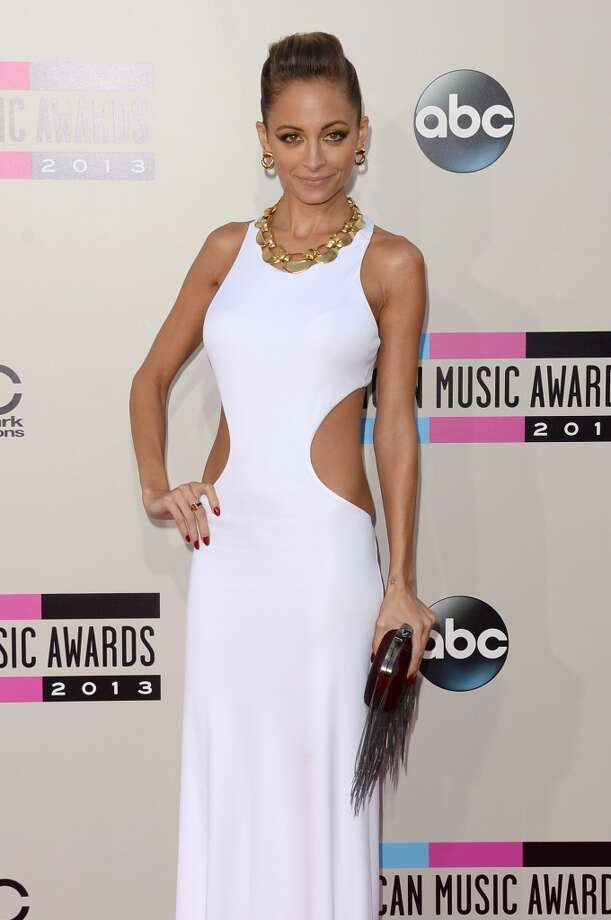 Fashion designer Nicole Richie attends the 2013 American Music Awards at Nokia Theatre L.A. Live on November 24, 2013 in Los Angeles, California.  (Photo by Jason Merritt/Getty Images) Photo: Jason Merritt, Getty Images