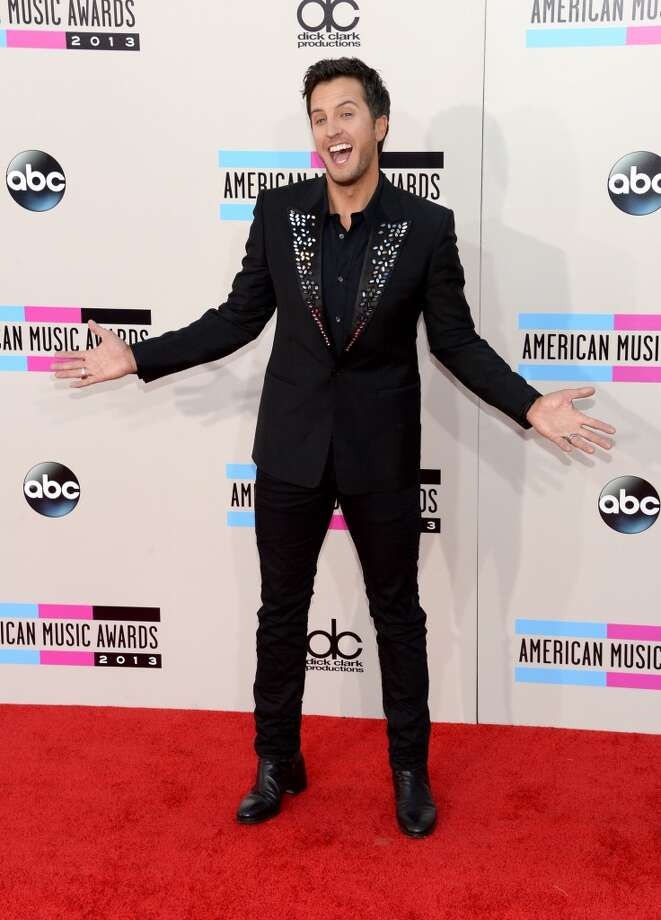 Singer Luke Bryan attends the 2013 American Music Awards at Nokia Theatre L.A. Live on November 24, 2013 in Los Angeles, California.  (Photo by Jason Kempin/Getty Images) Photo: Jason Kempin, Getty Images