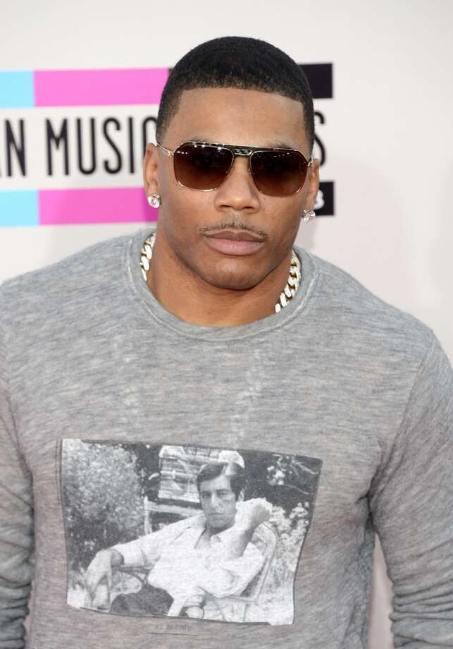 Rapper Nelly attends the 2013 American Music Awards at Nokia Theatre L.A. Live on November 24, 2013 in Los Angeles, California.  (Photo by Jason Kempin/Getty Images) Photo: Jason Kempin, Getty Images