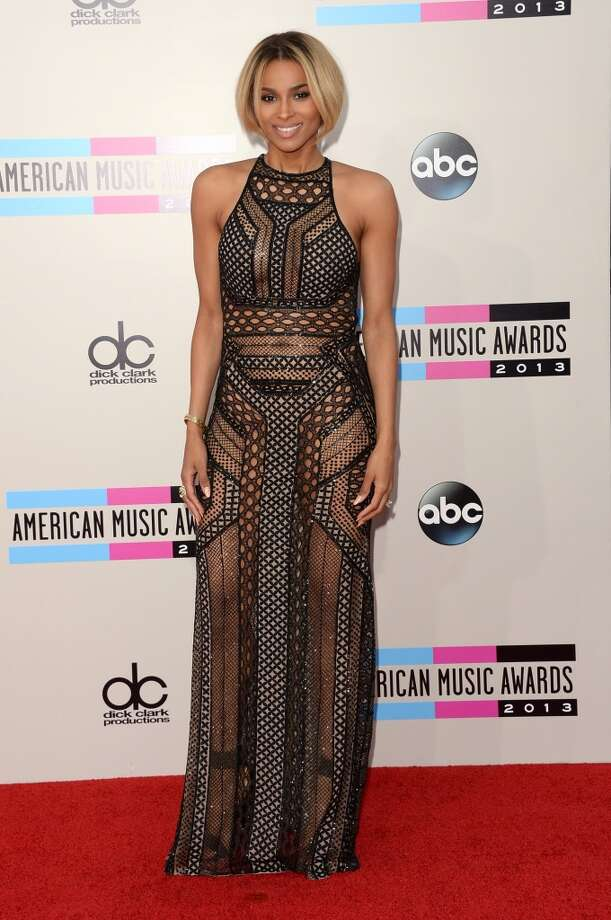 Singer Ciara attends the 2013 American Music Awards at Nokia Theatre L.A. Live on November 24, 2013 in Los Angeles, California.  (Photo by Jason Merritt/Getty Images) Photo: Jason Merritt, Getty Images