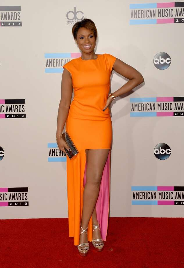 Singer/actress Jennifer Hudson attends the 2013 American Music Awards at Nokia Theatre L.A. Live on November 24, 2013 in Los Angeles, California.  (Photo by Jason Merritt/Getty Images) Photo: Jason Merritt, Getty Images