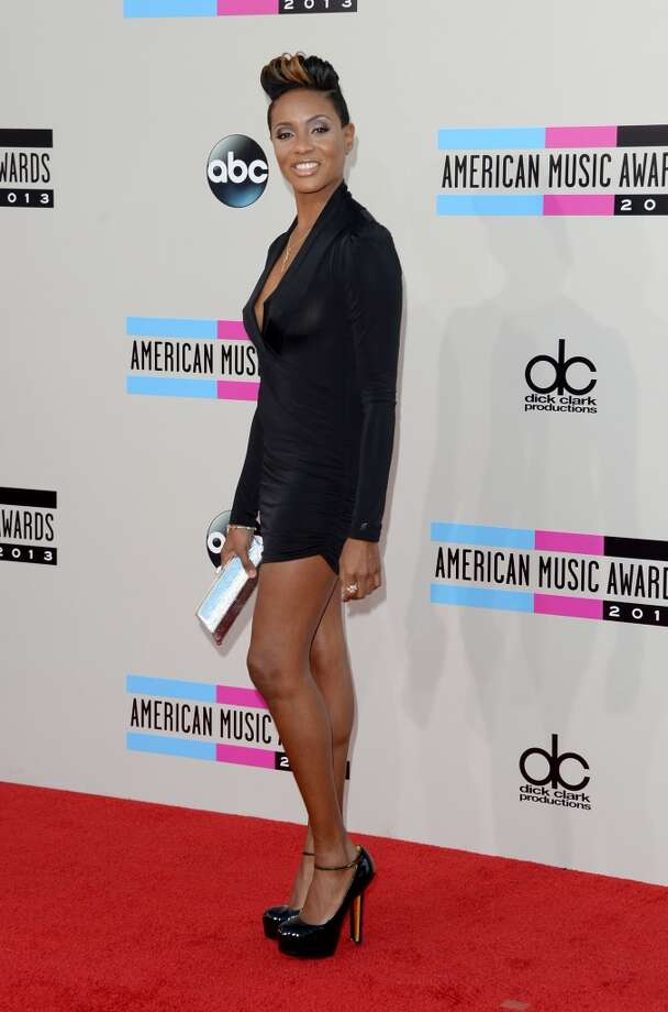 Rapper MC Lyte attends the 2013 American Music Awards at Nokia Theatre L.A. Live on November 24, 2013 in Los Angeles, California.  (Photo by Jason Merritt/Getty Images) Photo: Jason Merritt, Getty Images