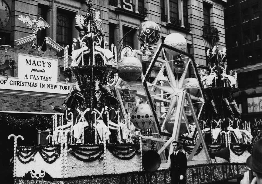 A parade float is seen during the Macy's Thanksgiving Day Parade in New York City on Nov. 26, 1961. Photo: Archive Photos, Getty Images / 2011 Getty Images