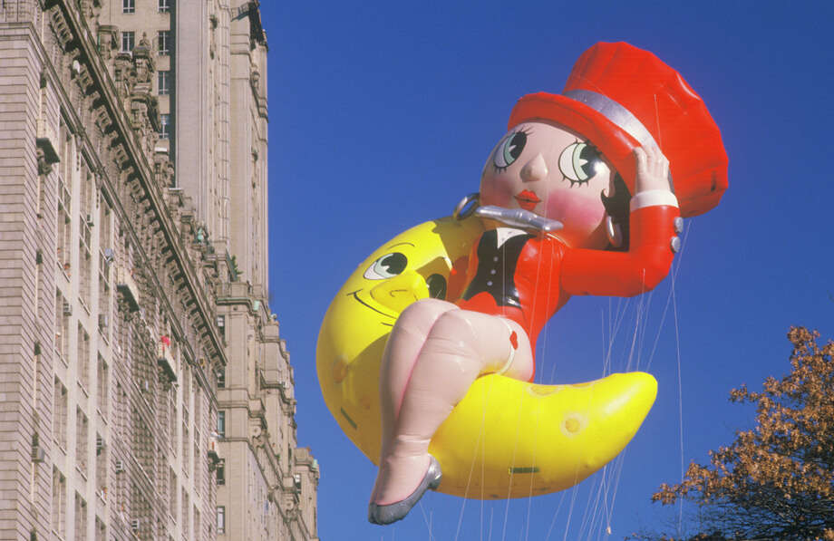 The Betty Boop balloon, which joined the parade in 1985, is seen during the Macy's Thanksgiving Day Parade in New York City in this undated photo. Photo: Visions Of America, Getty Images / © 2004 VisionsofAmerica.com/Joe Sohm.  All Rights Reserved. (800) SOHM-USA (764-6872)