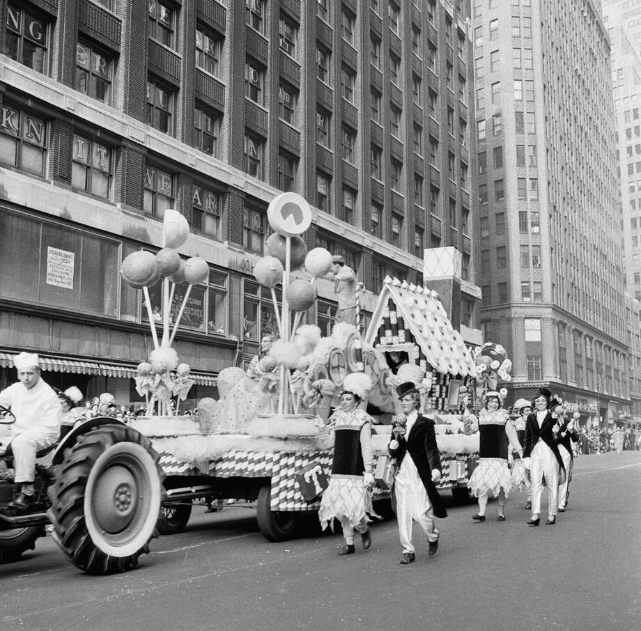 A float passes by during the 1954 Macy's Thanksgiving Day Parade. Photo: NBC, Getty Images / © NBC Universal, Inc.