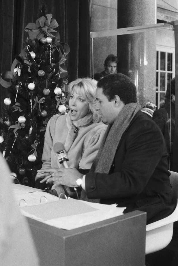 NBC hosts Deborah Norville and Bryant Gumbel are seen during the 1982 Macy's Thanksgiving Day Parade. Photo: NBC, Getty Images / © NBC Universal, Inc.