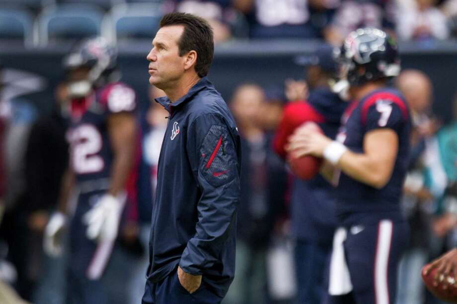 Texans coach Gary Kubiak this season has watched as his team run up the franchise's longest losing streak of  nine games. He missed the Nov. 10 loss after suffering a mini-stroke on the sidelines the previous week. Photo: Brett Coomer, Staff / © 2013  Houston Chronicle