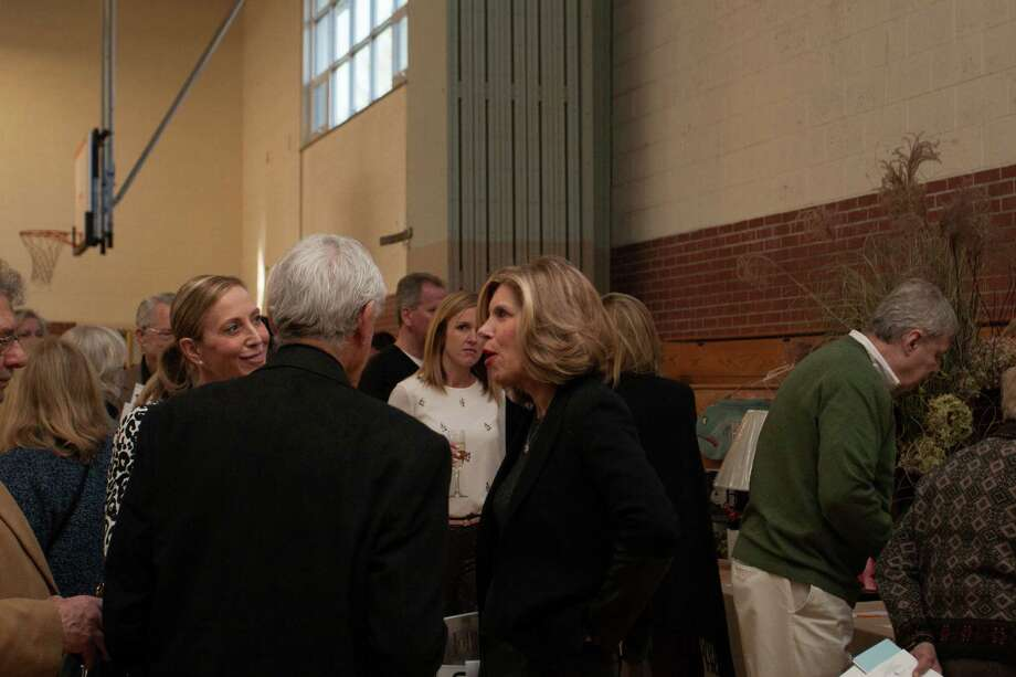 Christine Baranski at the Housatonic Valley Association Benefit Auction in Washington Depot, Conn., on Nov. 24, 2013. Photo: Stephanie Vogt / Hearst Connecticut Media Group