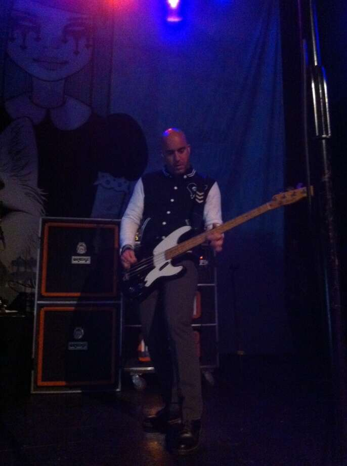 Alkaline Trio's Dan Andriano. Photo: Mike Damante, For The Chronicle