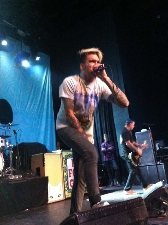 New Found Glory. Photo: Mike Damante, For The Chronicle