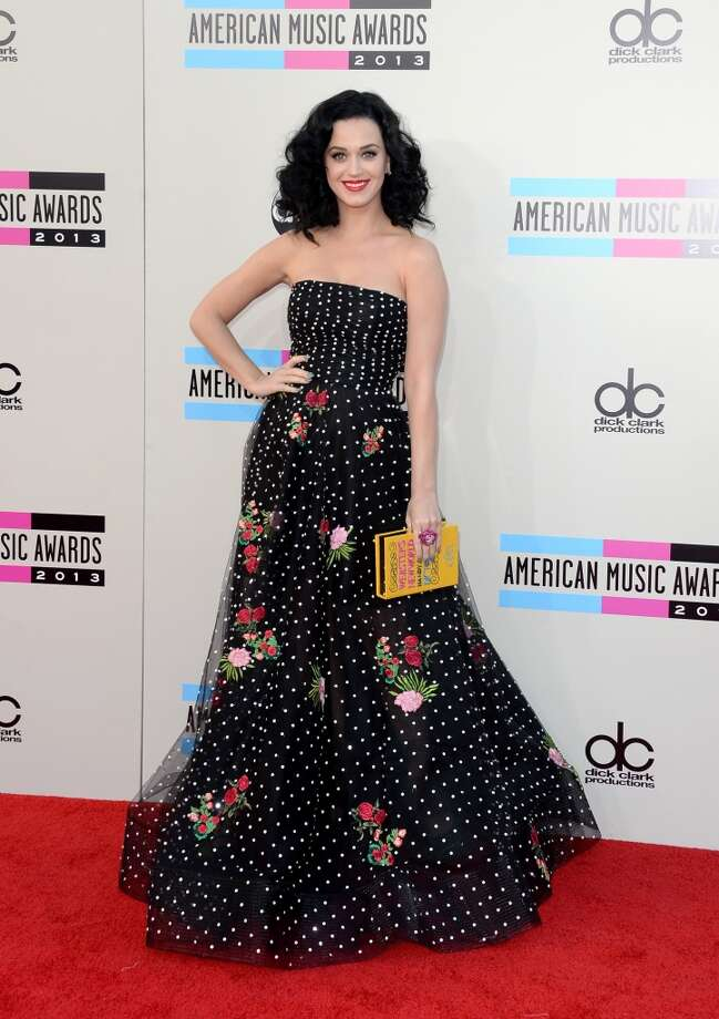 Singer Katy Perry attends the 2013 American Music Awards at Nokia Theatre L.A. Live on November 24, 2013 in Los Angeles, California.  (Photo by Jason Merritt/Getty Images) Photo: Jason Merritt, Getty Images