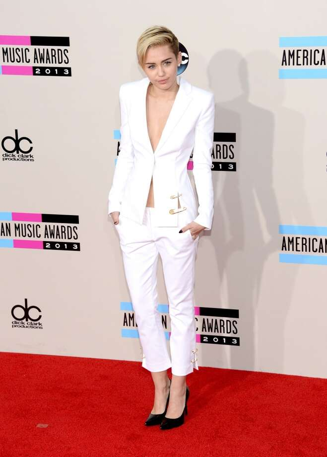Singer Miley Cyrus attends the 2013 American Music Awards at Nokia Theatre L.A. Live on November 24, 2013 in Los Angeles, California.  (Photo by Jason Kempin/Getty Images) Photo: Jason Kempin, Getty Images