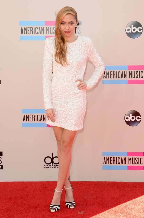 Actress Brandi Cyrus attends the 2013 American Music Awards at Nokia Theatre L.A. Live on November 24, 2013 in Los Angeles, California.  (Photo by Jason Merritt/Getty Images) Photo: Jason Merritt, Getty Images
