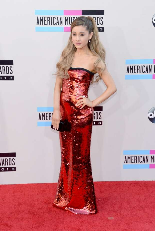 Actress Ariana Grande attends the 2013 American Music Awards at Nokia Theatre L.A. Live on November 24, 2013 in Los Angeles, California.  (Photo by Jason Kempin/Getty Images) Photo: Jason Kempin, Getty Images