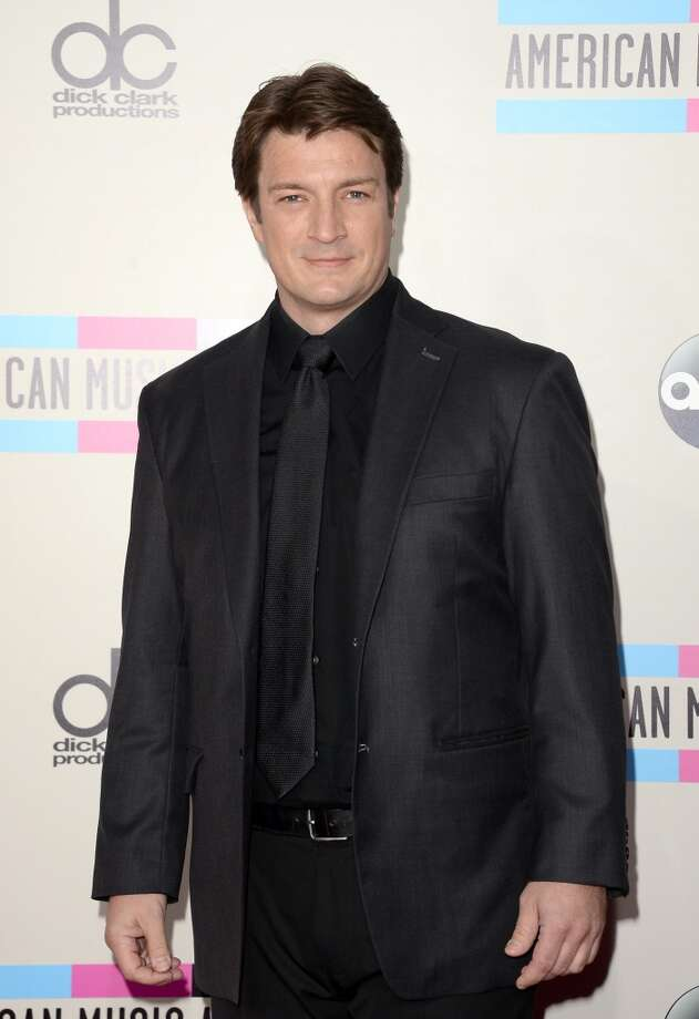 Actor Nathan Fillion attends the 2013 American Music Awards at Nokia Theatre L.A. Live on November 24, 2013 in Los Angeles, California.  (Photo by Jason Merritt/Getty Images) Photo: Jason Merritt, Getty Images
