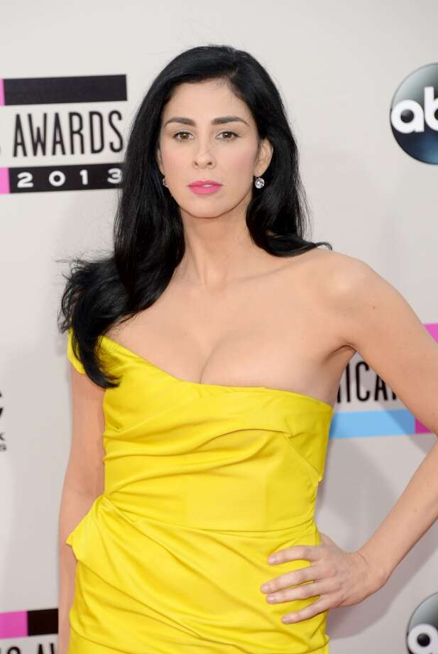 Comedian Sarah Silverman attends the 2013 American Music Awards at Nokia Theatre L.A. Live on November 24, 2013 in Los Angeles, California.  (Photo by Jason Kempin/Getty Images) Photo: Jason Kempin, Getty Images