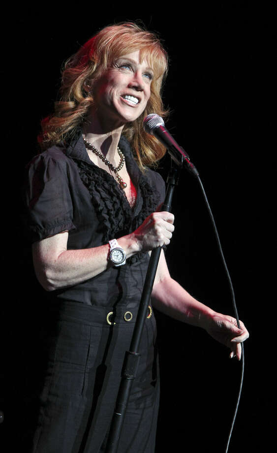 "Kathy Griffin is ""loud and obnoxious. Just like me,"" says one San Antonio fan. Photo: Tom Reel / San Antonio Express-News"